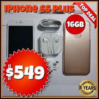 Refurbished iPhone 6S Plus 16GB - Black, Gold, Silver @Phonebot