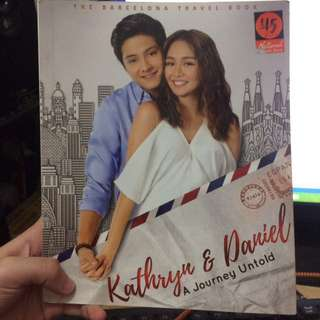Kathniel Balcelona Travel Book