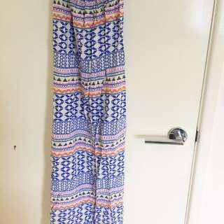 Patterned Maxi