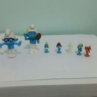 my smurf collection
