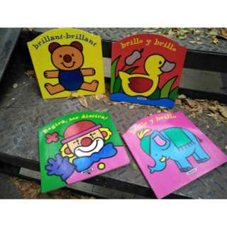 spanish book children boardbook BUKU IMPORT CHILDRENS BOOK BOARDBOOK HARDCOVER BOOK buku anak buku inggris