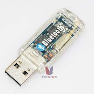 Transparent Bluetooth USB Dongle adapter