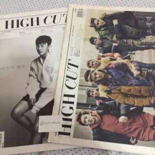 EXO OT12 High Cut Magazine, EXO-K High Cut Magazine