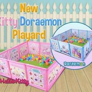 DORAEMON /KITTY FENCE