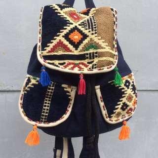民俗風-埃及手作後背包