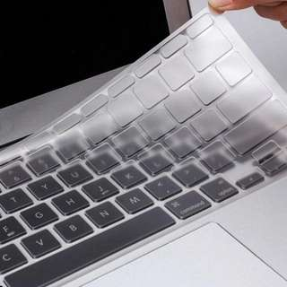 "Utra Thin Clear Keyboard Cover Skin for Macbook Air Pro/Retina 13"" 15.4 Inch"