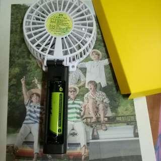 BTS summer package Fan 18650 Battery