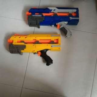 Nerf Longshot front barrel gun