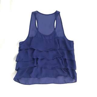 Preloved Ruffles top