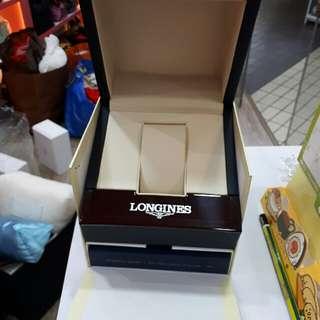 auth brand new longines watch box