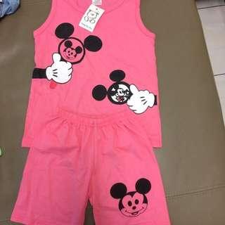 Minnie Pink Set