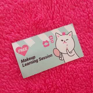 Free Makeup Lesson at Etude House