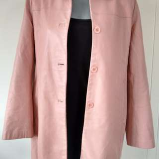 Dusky pink leather ciat-10-12