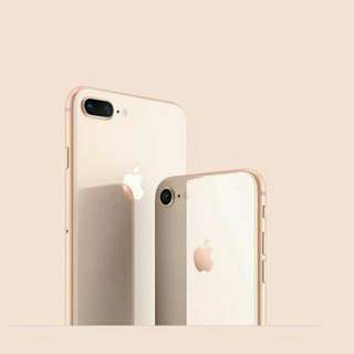 new iphone 8+ 256gb gold