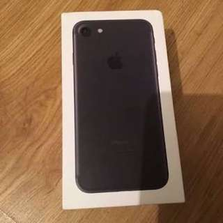 Iphone 7 Matte black - 128 GB