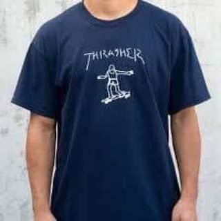 classic tees Gonz navy/white