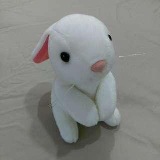 小兔子絨毛布偶