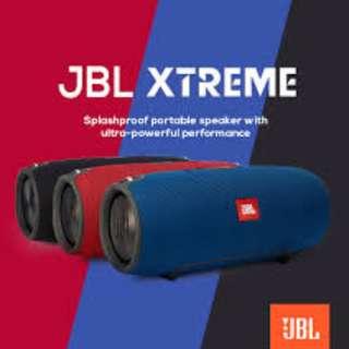 JBL XTREME Splashproof Portable Bluetooth Speaker