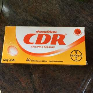 🍊Calcium D-Redoxon 💪🏻(30 Effervescent Tablets) 每日一片,冲水飲用裝 For Strong Bones