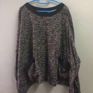 Oversized Batwing Top/Sweater