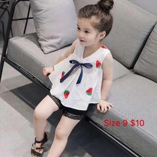 Cheap!! Full set girls apparel !!