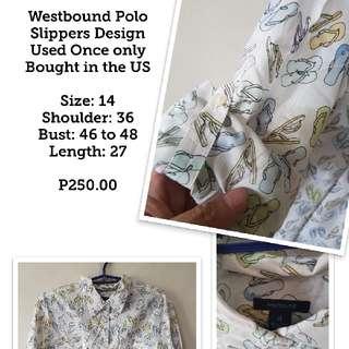 WESTBOUND Plus Size Polo