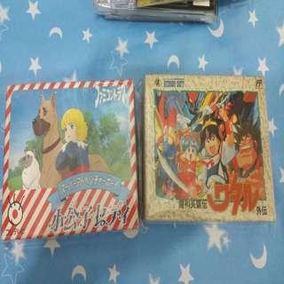 日本罕見原裝任天堂盒帶藍寶石王子加魔神英雄傳、齊說書