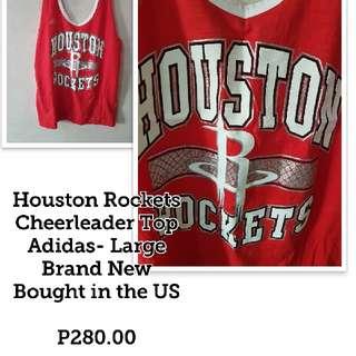 Rockets Cheerleader Top