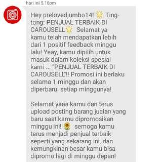Thankyou Carousell