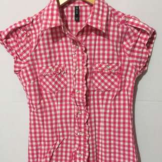 BNY Checkered Polo