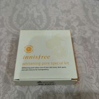 Innisfree whitening pore special kit