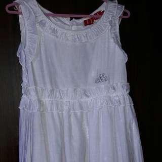 Elle white dress