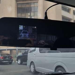 Rearview mirror car dash camera