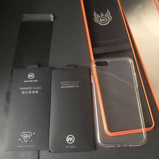 iPhone 7 Tempered Glass Full