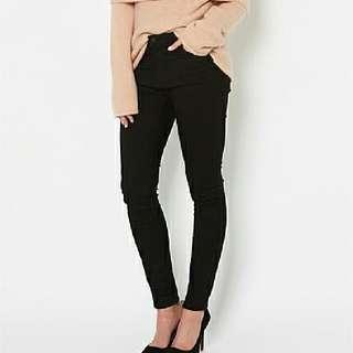 Witchery Black Skinny Jeans Womens Size 6