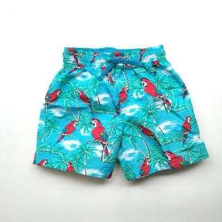 (Size 1-2 tahun) H&M Boys Tropical Print Swimming Boardies