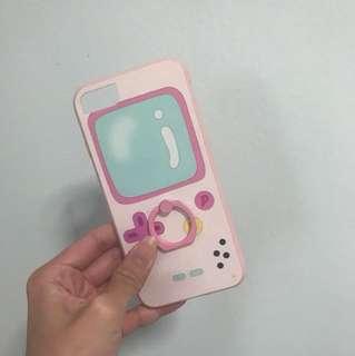 Iphone 7 gameboy + iring phone cover