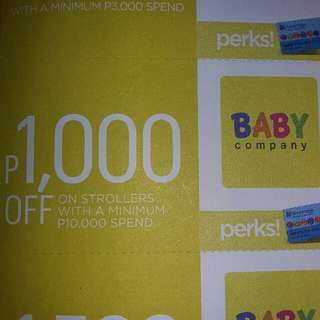 Baby Co. Discount Coupon