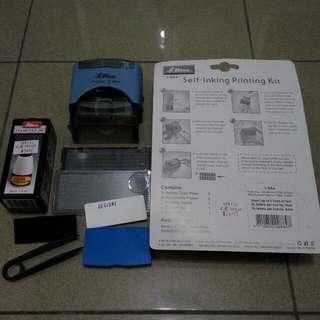 Self-inking Printing Kit