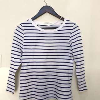 Zara stripes tshirt