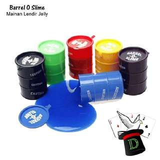 barrel o slime / barrel-o-slime / slime barrel / barrel slime / slime anak / mainan anak / pembersih keyboard / lendir jelly