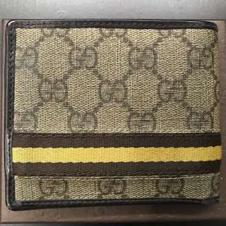 Gucci Men Wallet (with coin section)