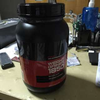 GNC Weight gainer 1850 powdered drink mix
