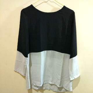 Monochrome Loose Shirt