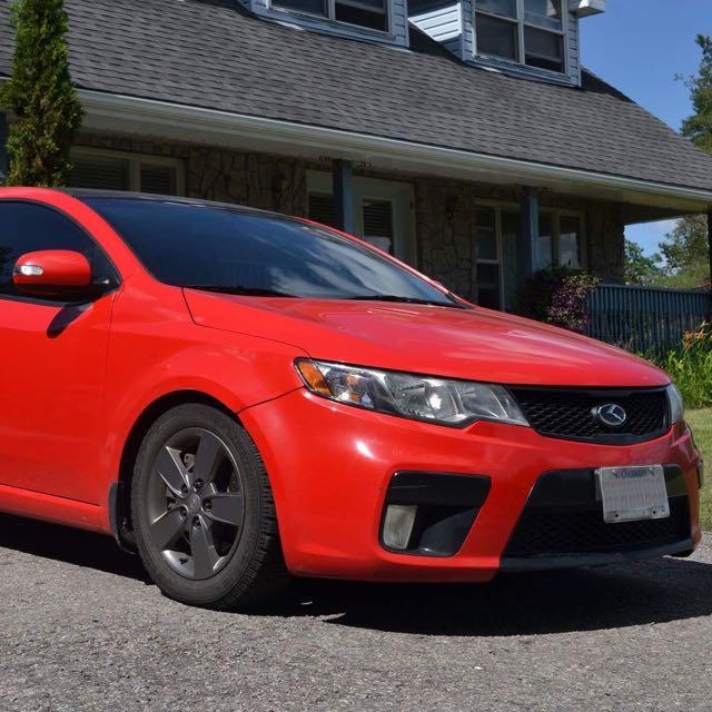 2010 Kia Forte Koup SX 2.4L