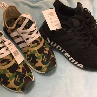 Package deal ! Brand New Adidas Supremes &a NMDs!!