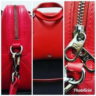 Braun Buffel Red Handbag