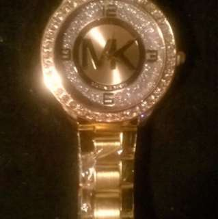 Brand New In Plastic Gold Michael Kors Watch!!!
