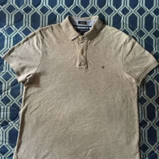 Tommy Hilfiger Gray Poloshirt