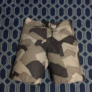 Nike Gray/Black Boardshort